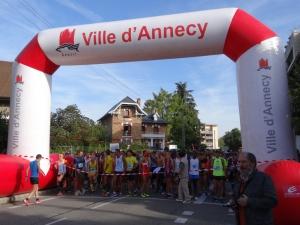 10 km lac Annecy