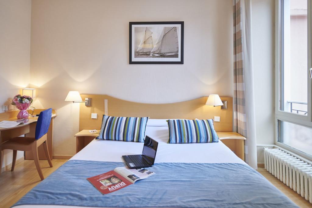 Hôtel du Nord à Annecy, chambre simple