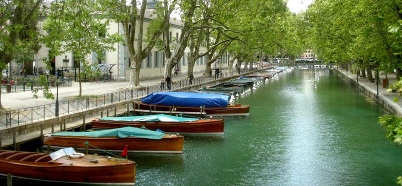 Annecy Canal du Vassé